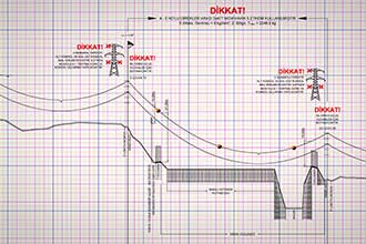 OHTL Plan and Profile